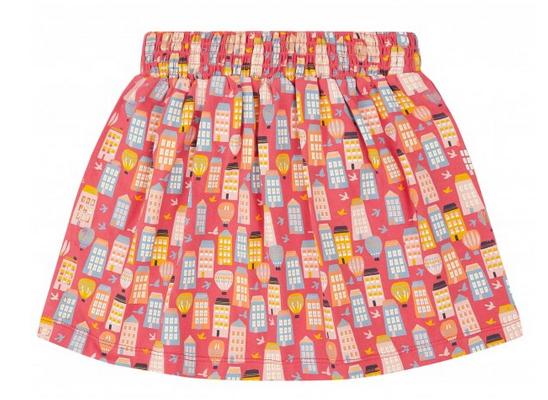 Sense-Organics - MALIA Mädchenrock mit Häusern