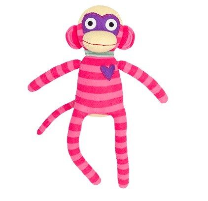 HickUps Sockenaffe midi pink/rosa