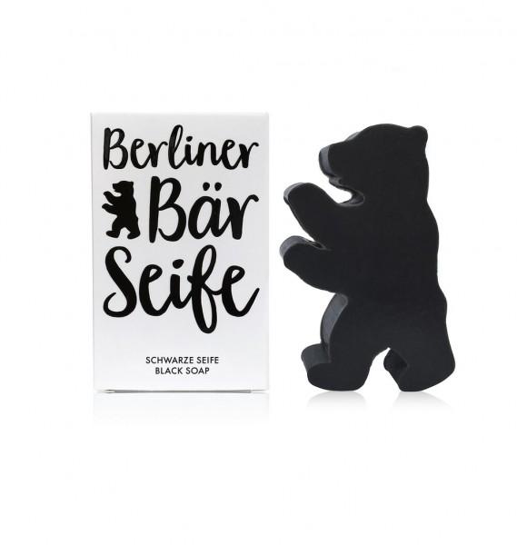 Berliner Bär Seife - schwarz - eine neue Seife von dearsoap