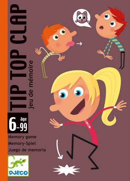 DJECO Kartenspiel Tip Top Clap - 6+