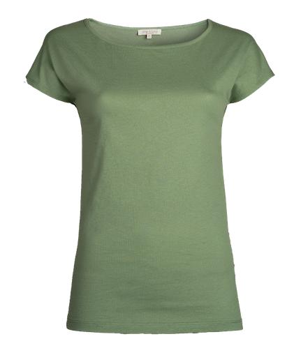 Alma & Lovis _ Short Pure Shirt / mineral green