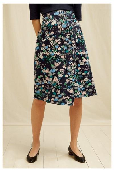 V & A Floral Print Skirt