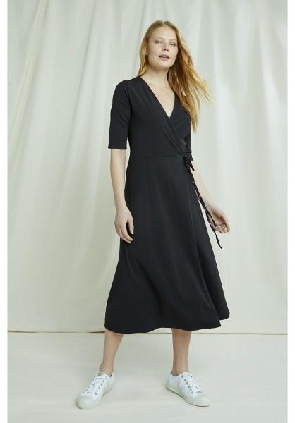 people Tree - Mishka Wrap Dress in black