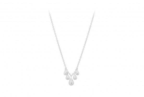 Waterdrop Necklace - feminine Kette - Sterlingsilber - mit kleinen Tropfen von Pernille Corydon