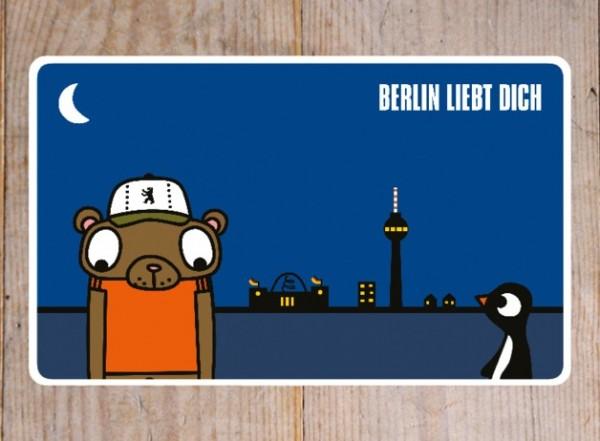 Frühstücksbrettchen von lololand - Berlin liebt dich - neu