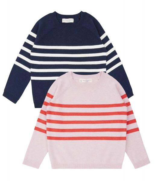 NAIA - gemütlicher Pullover mit Ringeln