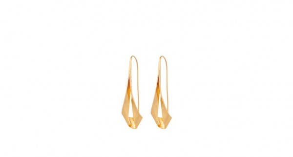 Pernille Corydon - Grace Earrings- Sterling Silber mit 18 Karat vergoldet