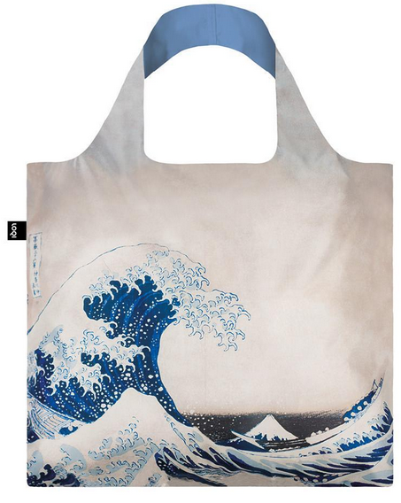 Loqi Tasche HOKUSAI The Great Wave, 1831 - Museumskollektion