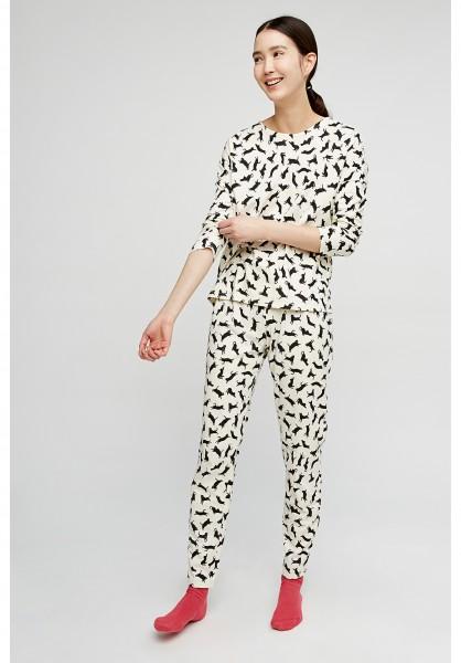 Cats Pyjama Longs Sleeve Top