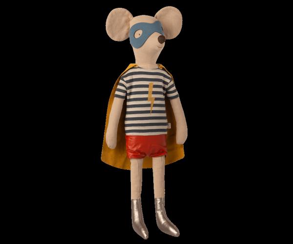 Maileg Mäuse _ Maxi Maus - Superheldmaus