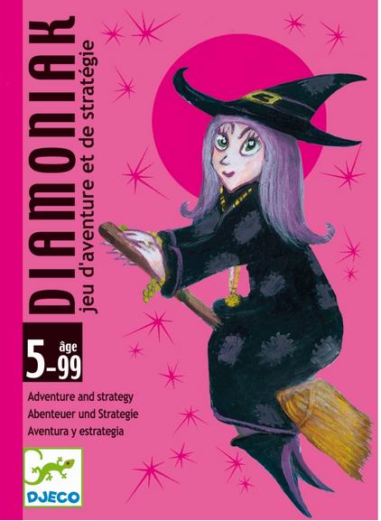 DJECO Kartenspiel Diamoniak - 5+