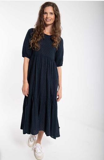 danefae - Kleid Juli Dusty Navy