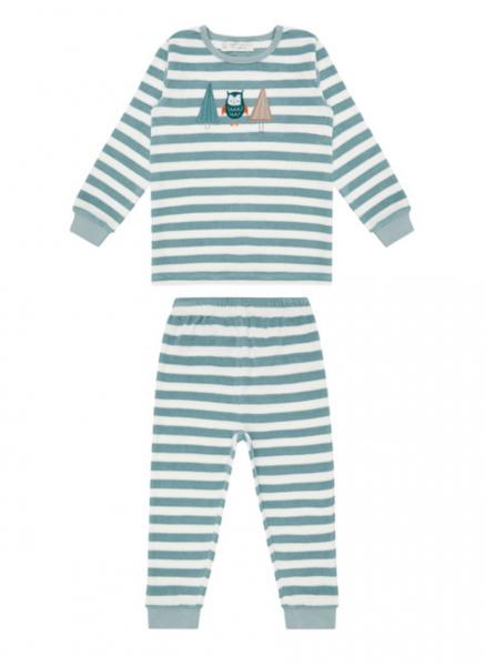 Frottee Pyjama Eule