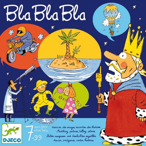 DJECO Spiel Bla Bla Bla - 7+