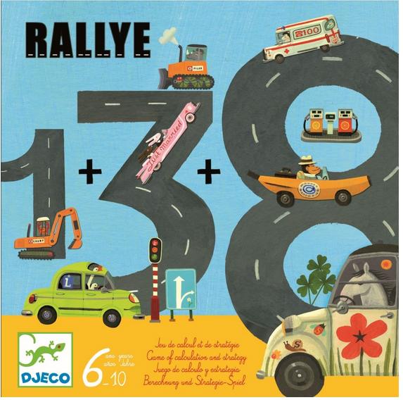 DJECO Spiel Rallye - 6+