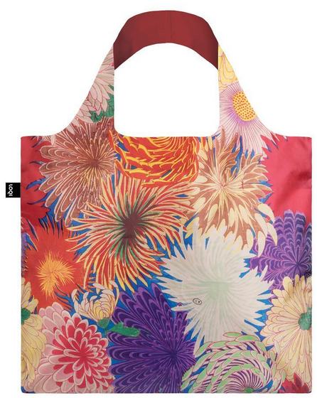 Loqi Tasche MAD Japanese Chrysanthemum Bag - Museumskollektion