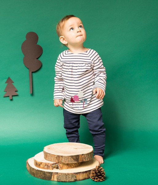 Sense-Organics - Baby ADSILA Tunika Streifen