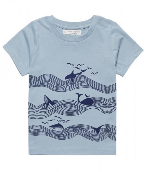Ibon T-Shirt mit Walprint