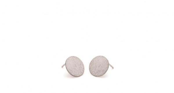 Pernille Corydon - Small Coin Earsticks aus Sterlingsilber