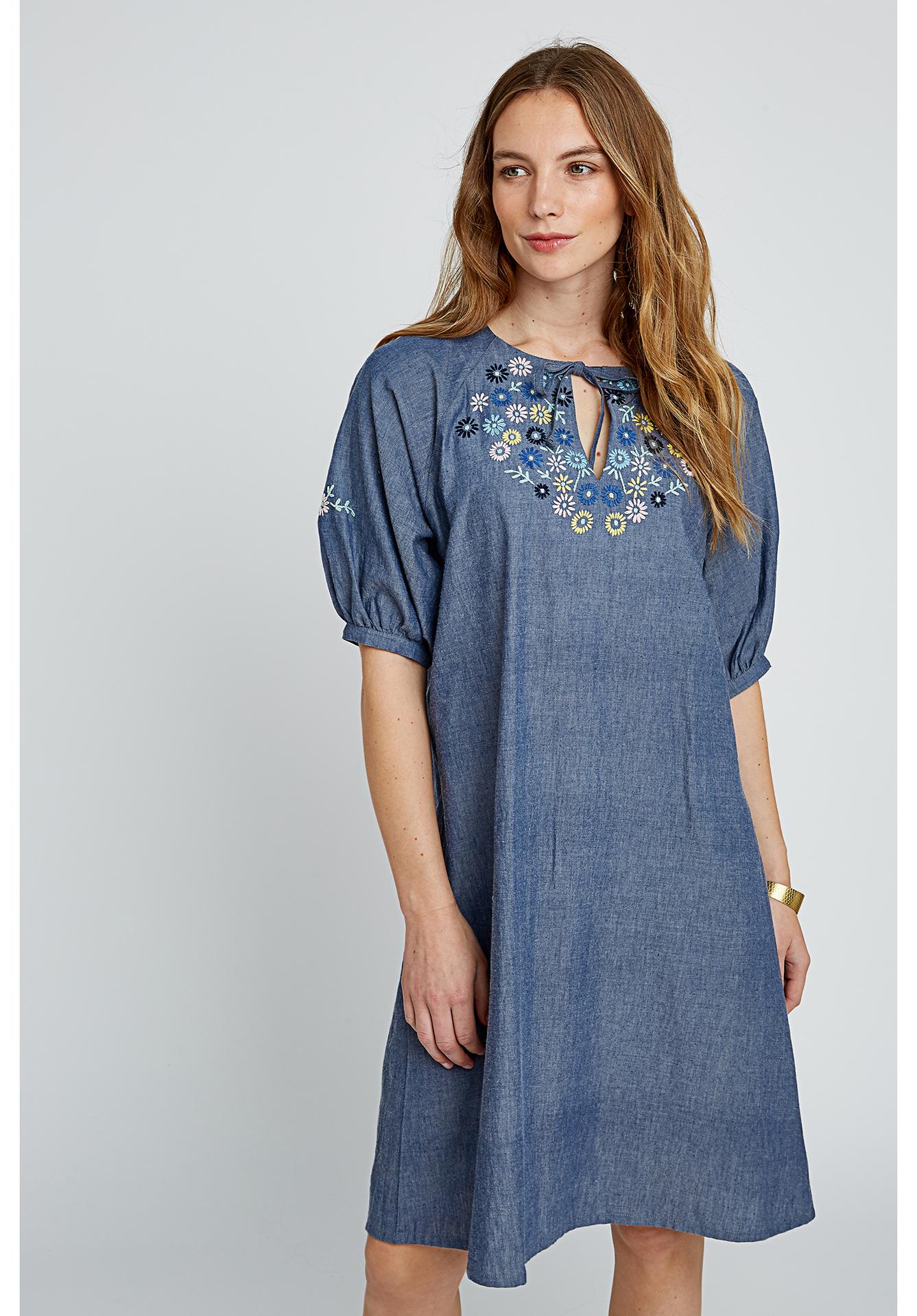 People Tree Patti Embroidered Dress | Kleider | Frauen ...