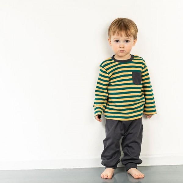Sense-organics SJORS Babyhose blau