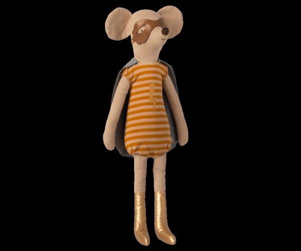Maileg Mäuse _ Maxi Maus - Superheldmaus-Mädchen