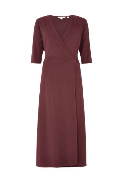 people Tree - Mishka Wrap Dress in rost