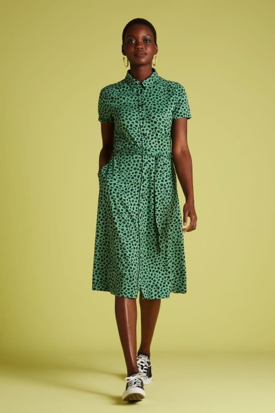 Olive Dress Bobcat