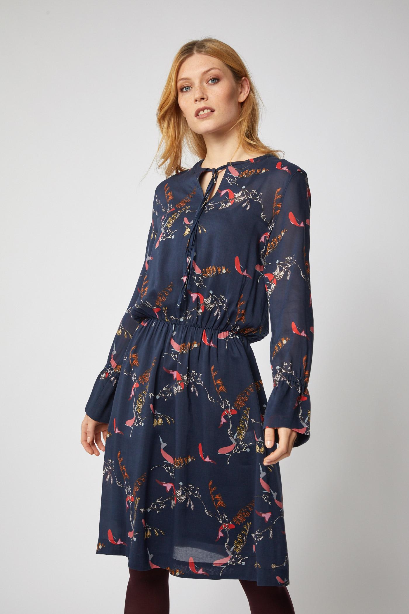 bccb8b4a4775 Lanius - Kleid mit Schnürung