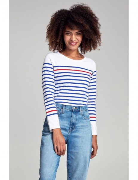 """Shirt im Marine-Stil """"Rempart"""" - aus fester Baumwolle"""