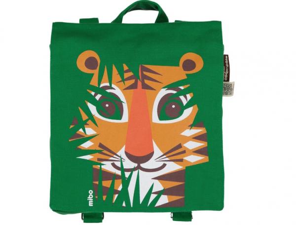 COQ EN PATE - Rucksack grün TIGER 3+