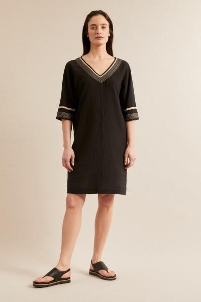 Lanius Kleid mit Bändern