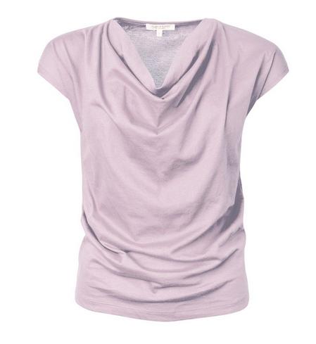Alma & Lovis _ Short Cascade Shirt /violet ice