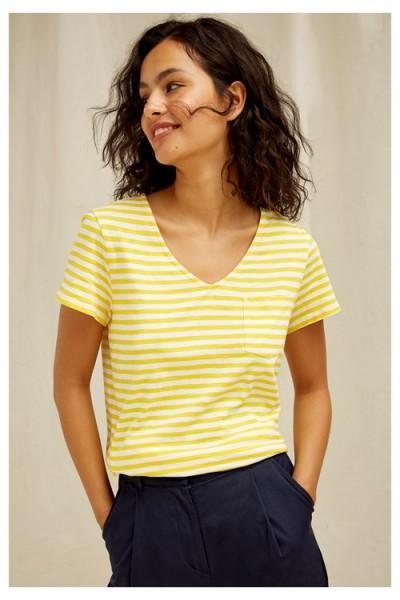 Thora - T-Shirt mit bretonischen Streifen