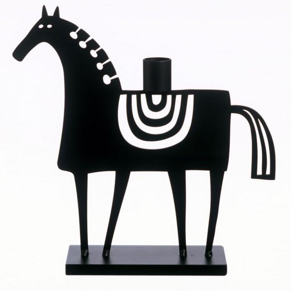 großer Kerzenständer von Bengt & Lotta - schwedisches Pferd
