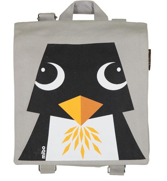 COQ EN PATE - Rucksack grau PINGUIN 3+-Copy