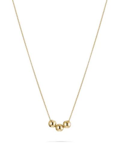 Boules Necklace aus vergoldetem Sterlingsilber