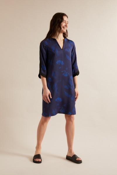 Lanius Kleid, Print: Oasis / blue