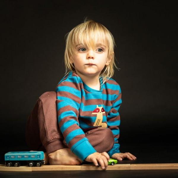 Sense-Organics - FINN Bio Kinder Sweatshirts geringelt