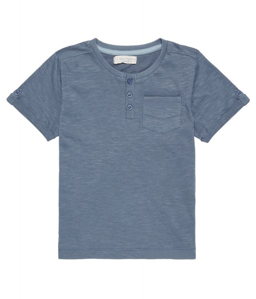 T-Shirt Sinan in Jeansblau