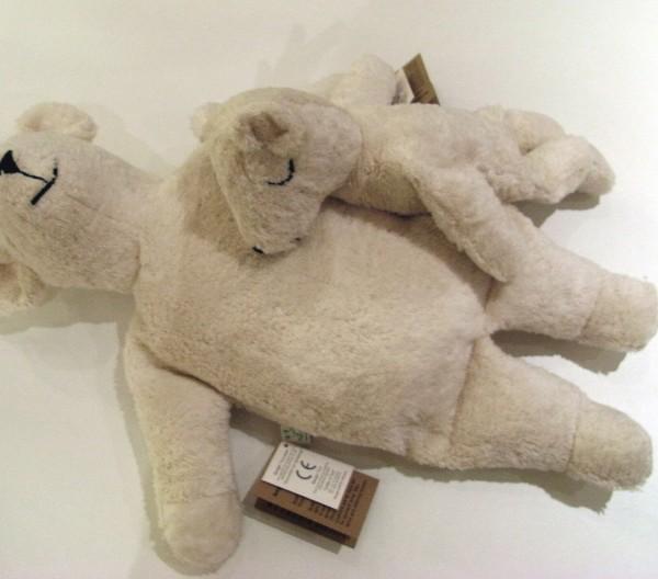 Senger Naturwelt- Kleiner Eisbär mit Kirschkernkissen/Senger