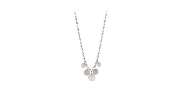 Pernille Corydon - Mini Coin Necklace aus Sterlingsilber