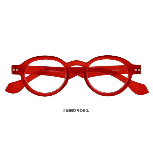 I need you - Lesebrille doktor rot