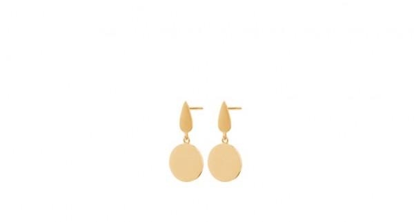 Pernille Corydon - Dayglow Plain Earsticks - Sterling Silber mit 18 Karat vergoldet