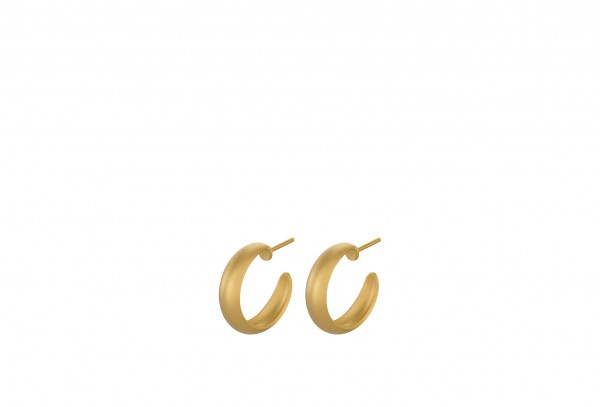Pernille Corydon - Soho Hoops aus Sterlingsilber mit 18 Karat vergoldet