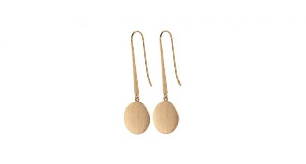 Pernille Corydon - Coin Hooks - Sterling Silber mit 18 Karat vergoldet