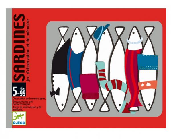DJECO Kartenspiel Sardines - 5+
