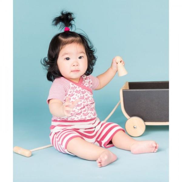 Sense-Organics - EMILIO Baby Frottee Shorts, rosa