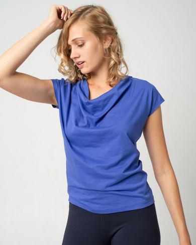 Alma & Lovis _ Short Cascade Shirt / royal