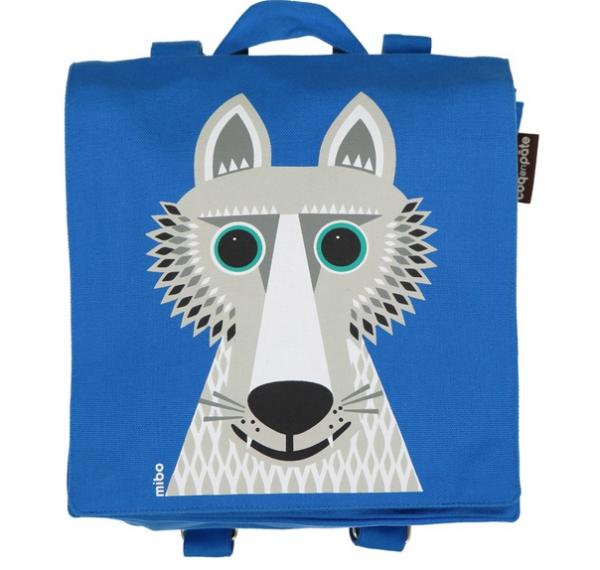 COQ EN PATE - Rucksack blau WOLF 3+